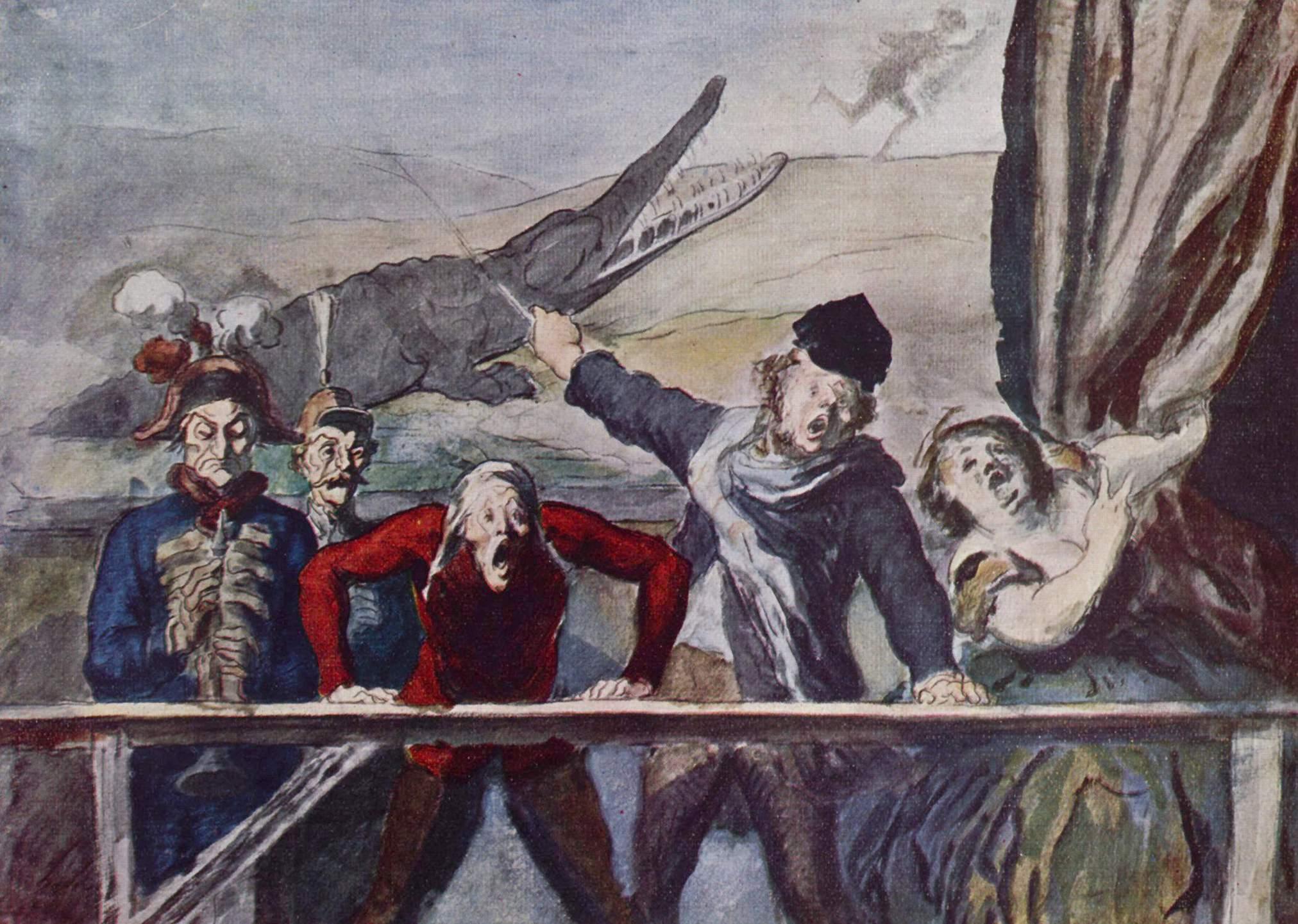 Представление, Домье Оноре