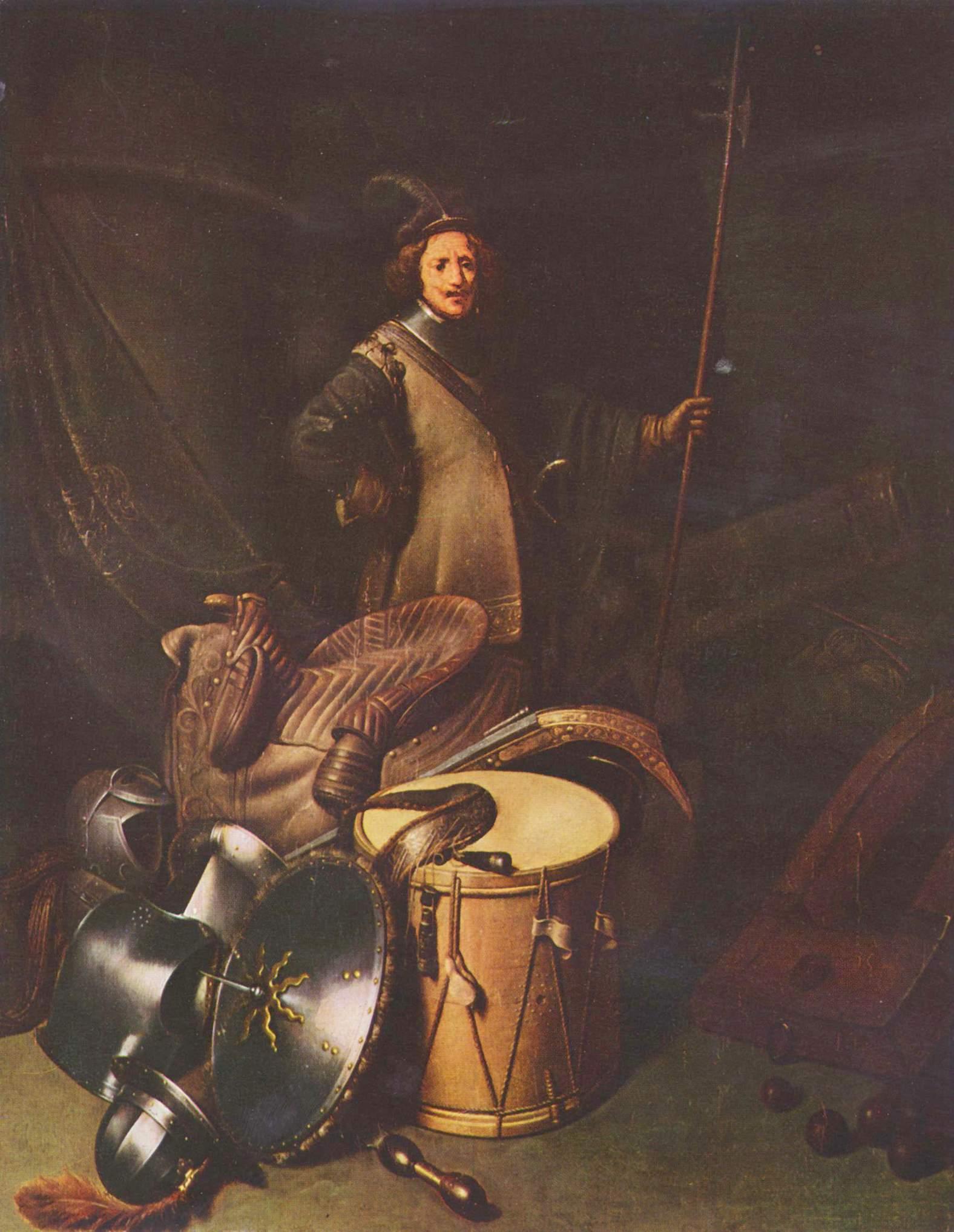 Портрет офицера лейденской стрелковой гильдии, Доу Герард