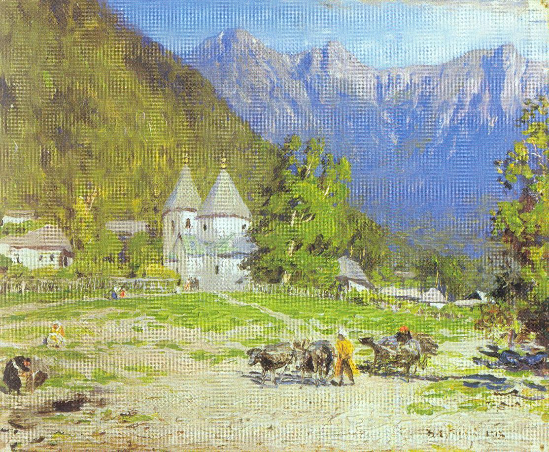 Красная поляна, Дубовской Николай Никанорович