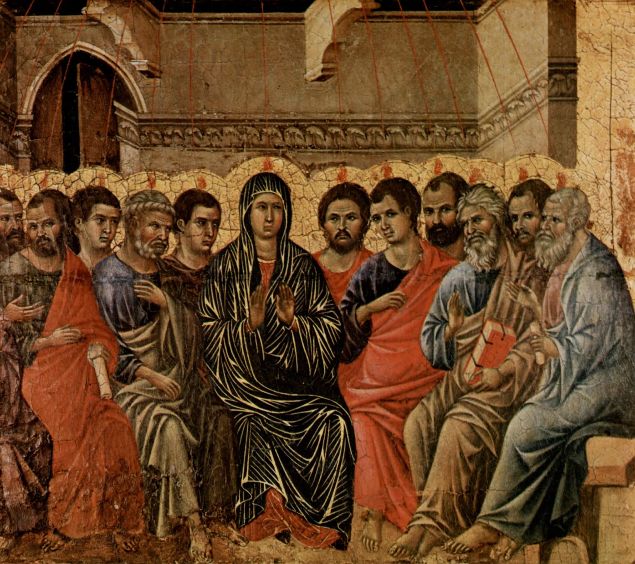 Картины сошествие святого духа картинки