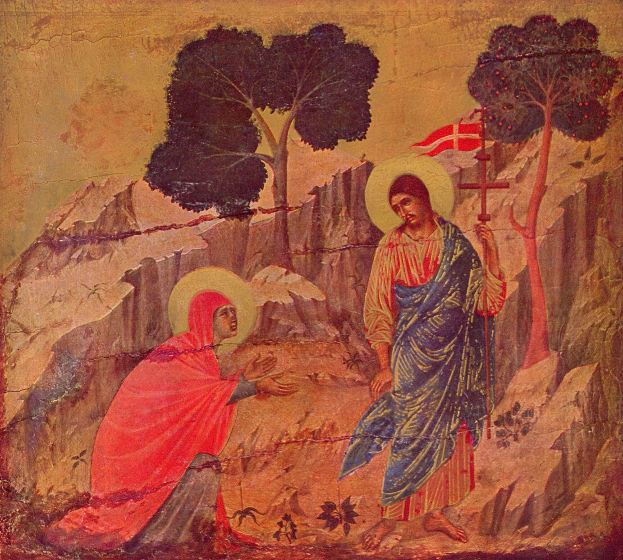 Явление Христа Магдалине, Дуччо ди Буонинсенья