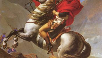 Наполеон на перевале Сен-Бернар IV
