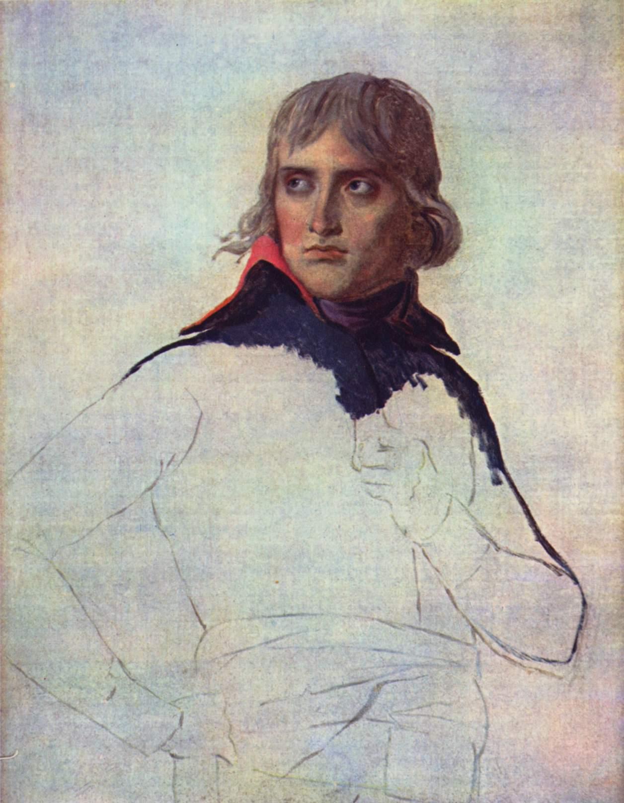 Портрет генерала Наполеона Бонапарта, Жак - Луи Давид