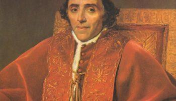 Портрет папы Пия VII