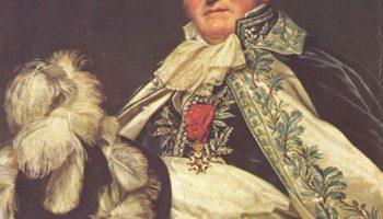 Портрет графа Антуана Франсуа де Нанта