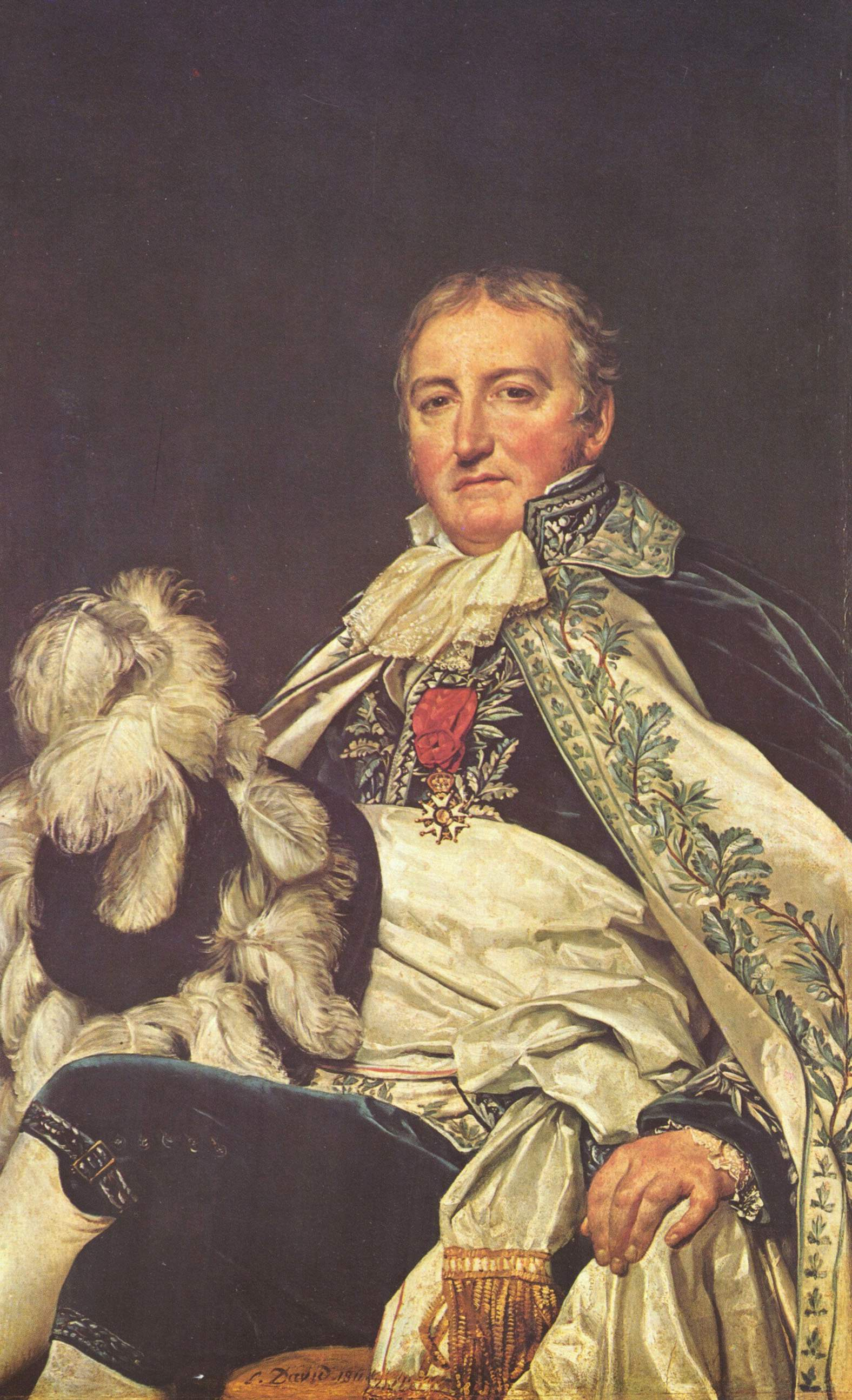 Портрет графа Франсуа де Нант, Жак - Луи Давид