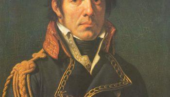 Портрет барона Ларре, главного хирурга в египетском походе