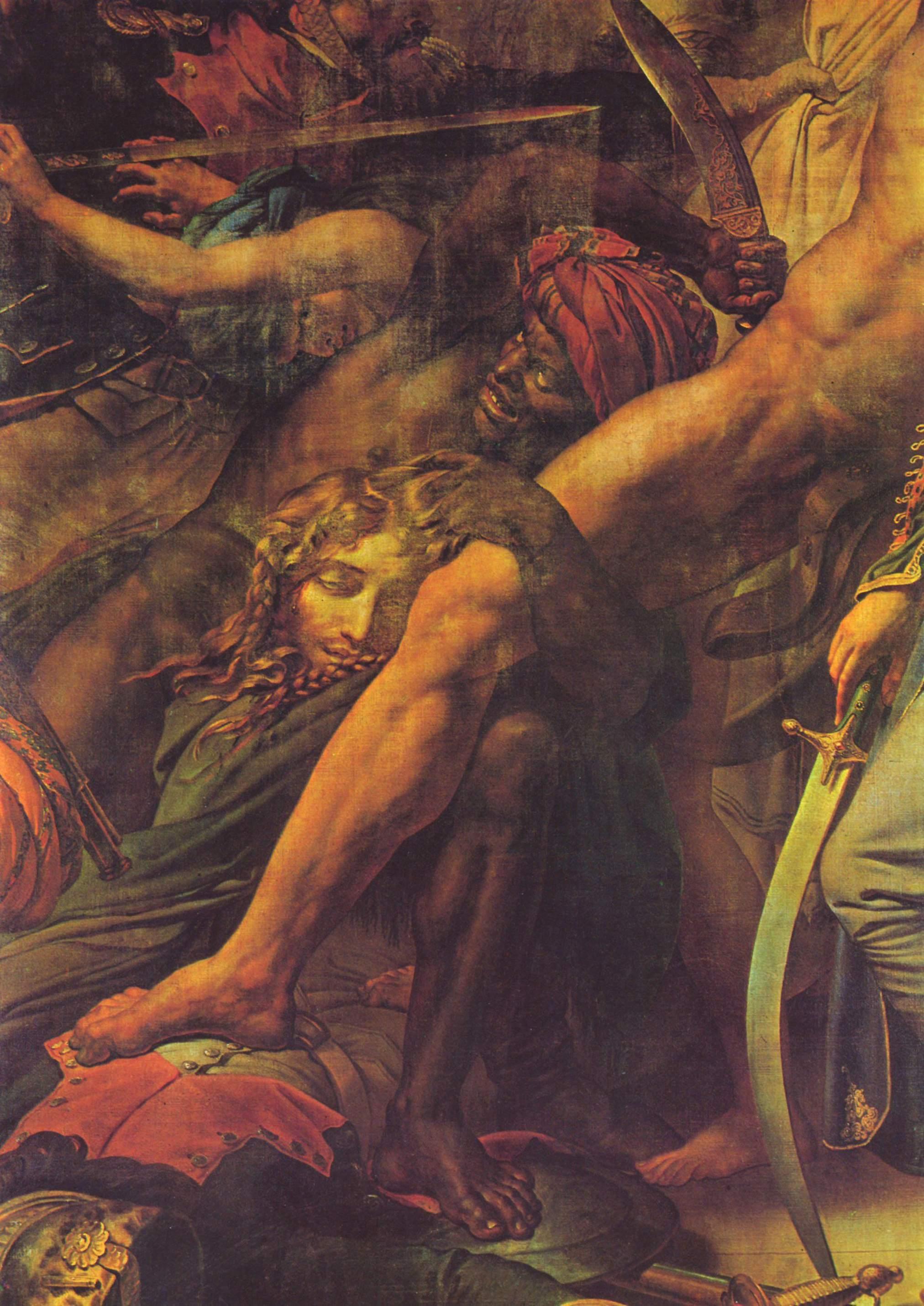 Бунт в Каире. Фрагмент, Теодор Жан Луи Жерико