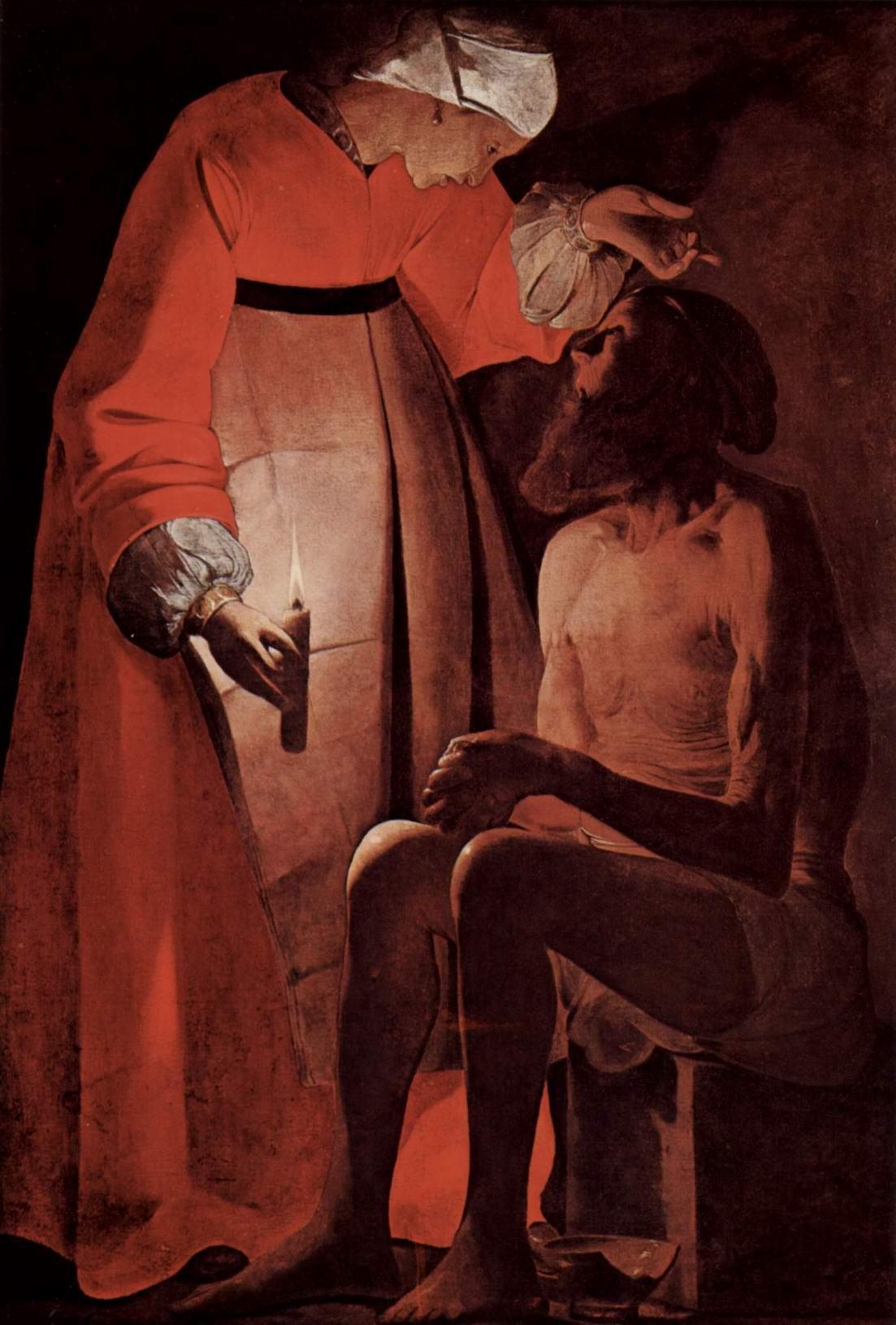 Иов и его жена, Жорж Де Ла Тур