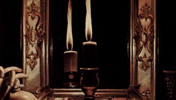 Кающаяся Мария Магдалина (Магдалина Райтсмена). Фрагмент. Свеча в зеркале