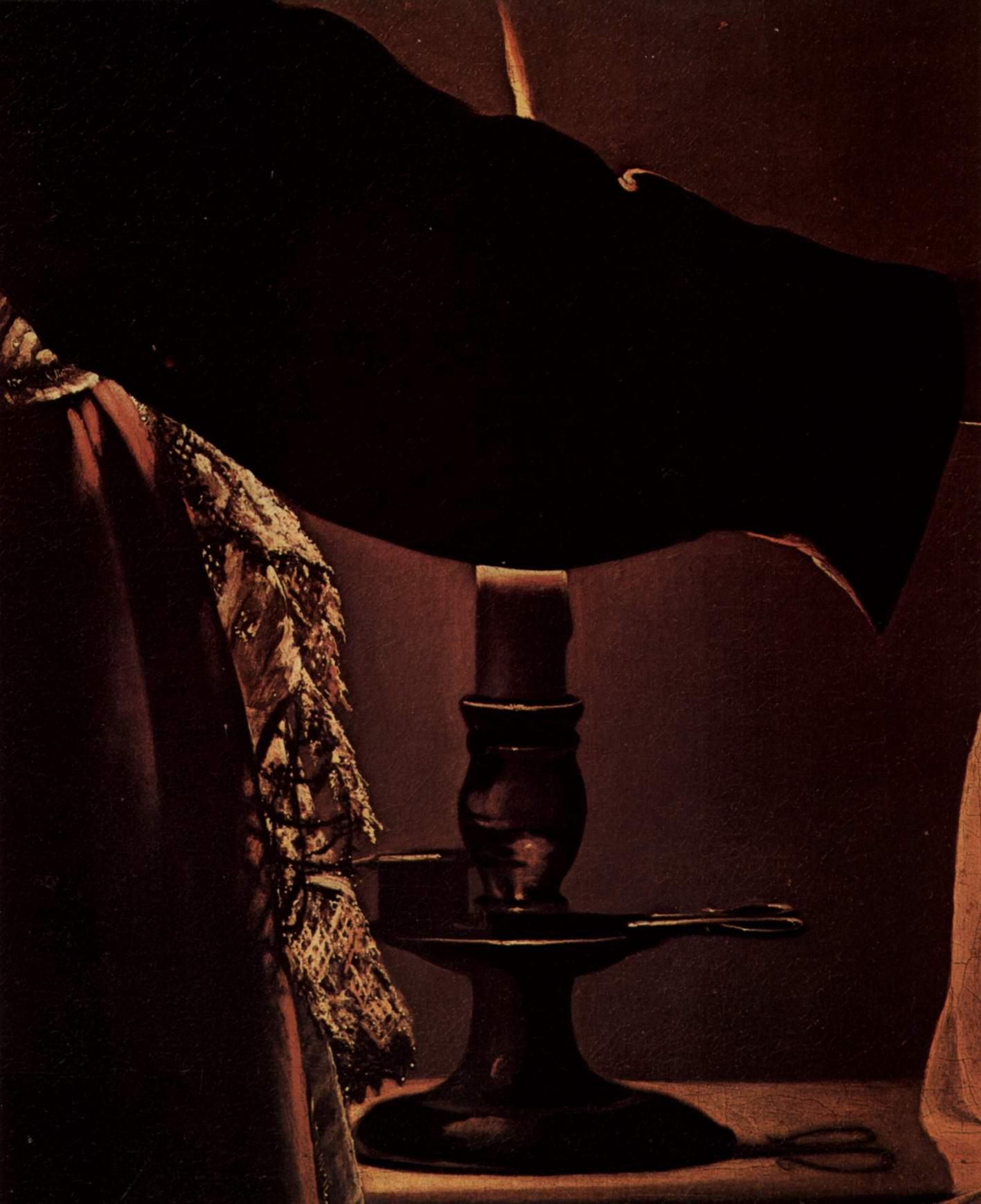 Ангел является св. Иосифу во сне. Фрагмент, Жорж Де Ла Тур
