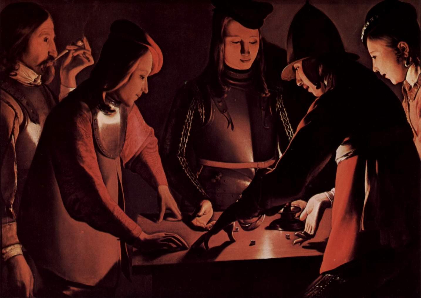 Игроки в кости, Жорж Де Ла Тур