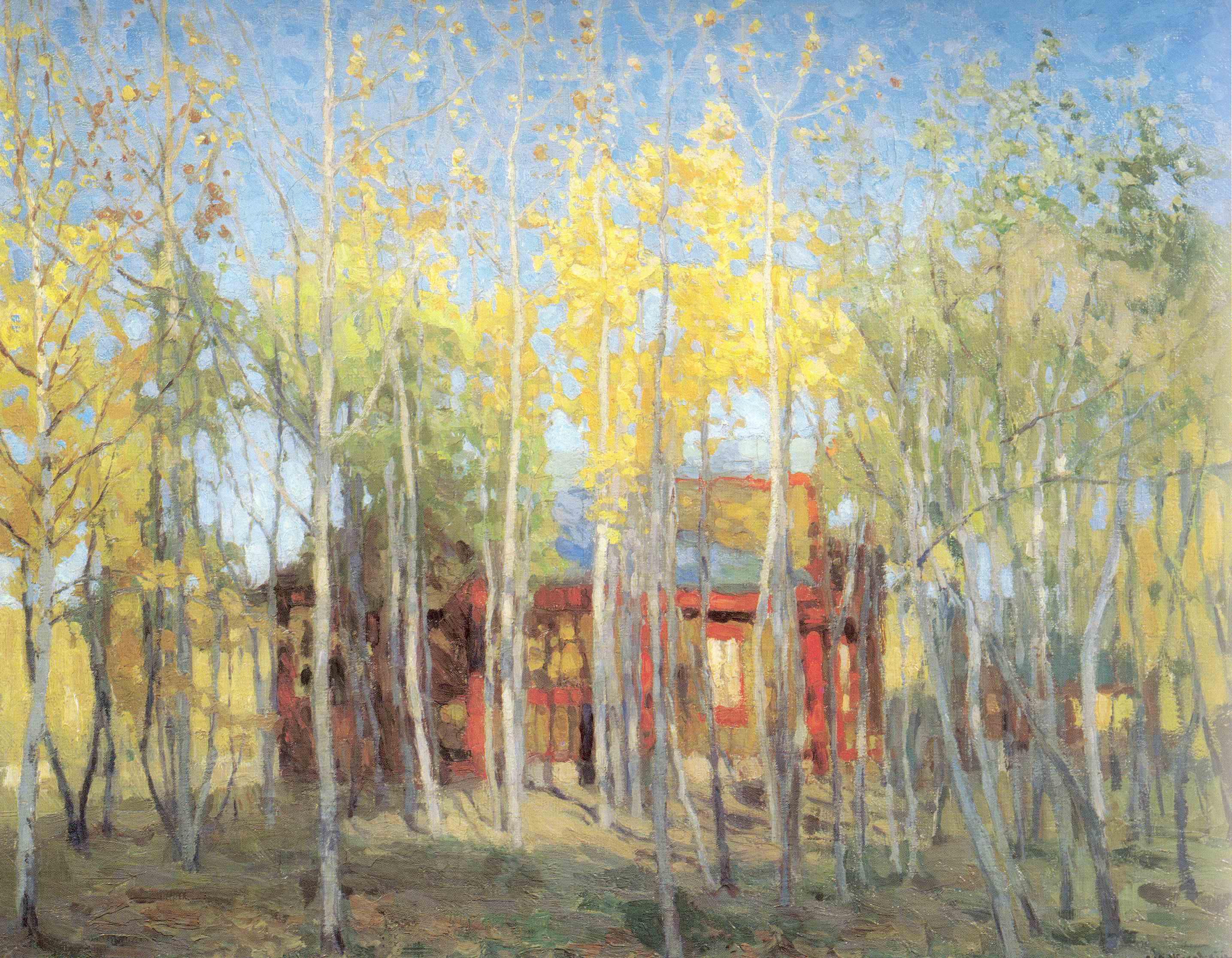 Золотая осень, Жуковский Станислав Юлианович