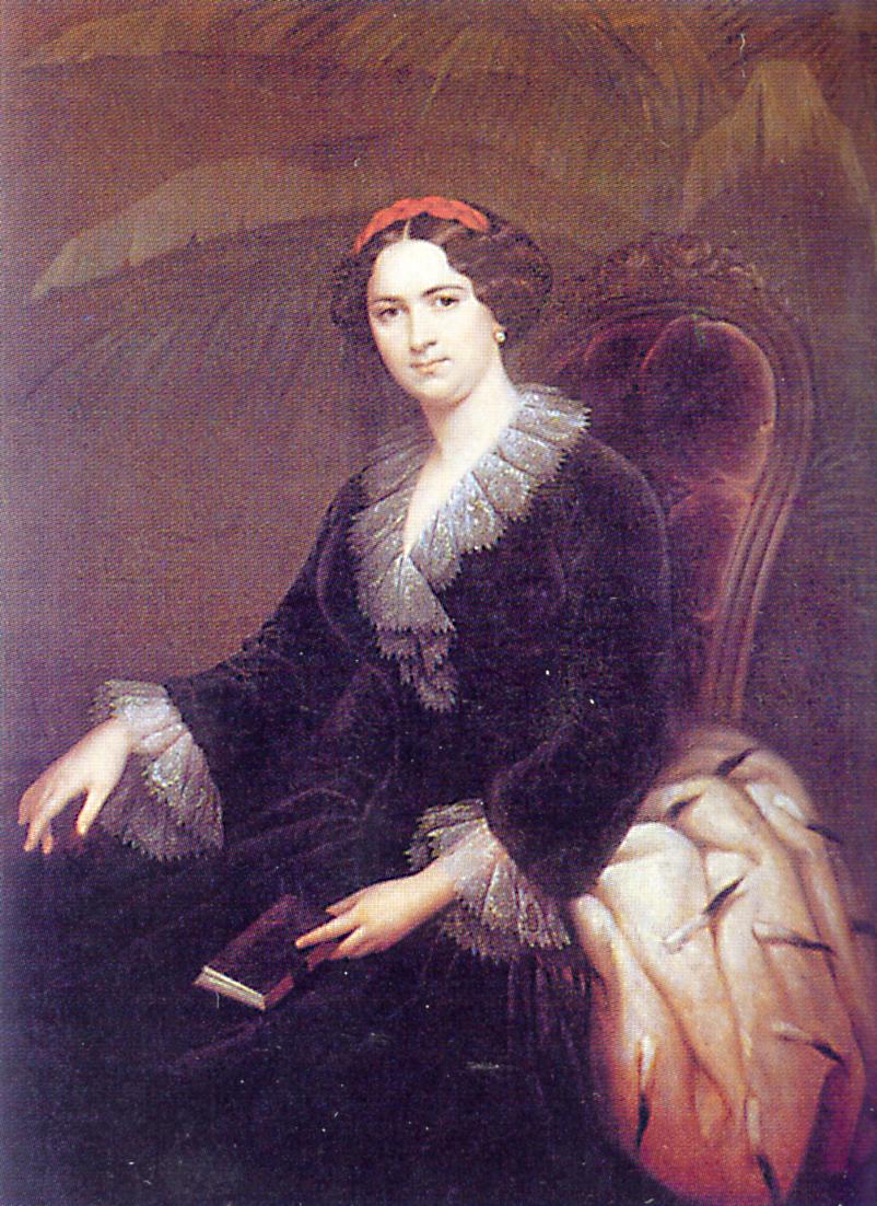 Портрет княгини Трубецкой (2a28, Зарянко Сергей Константинович