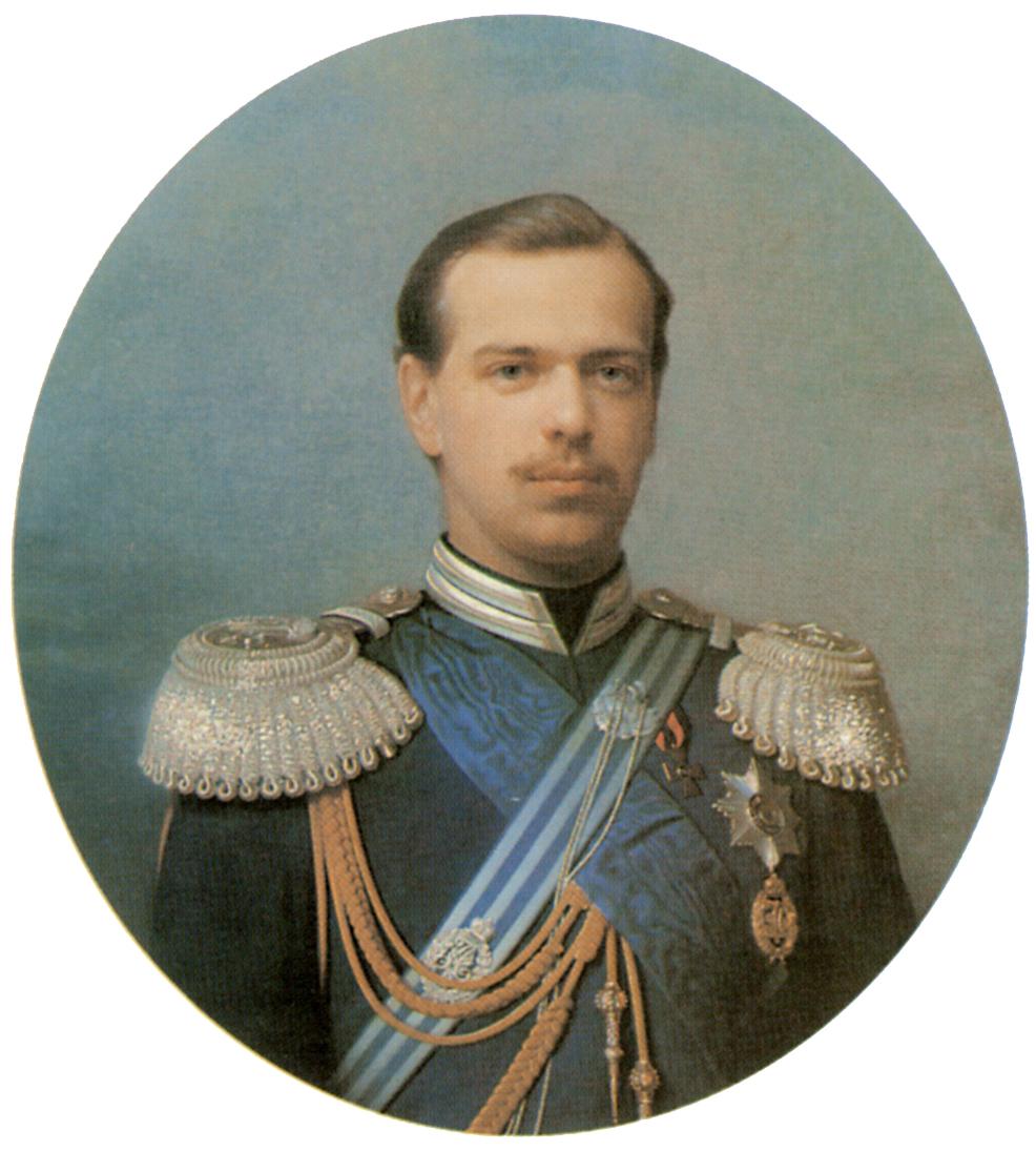 Портрет цесаревича Александра Александровича, Зарянко Сергей Константинович