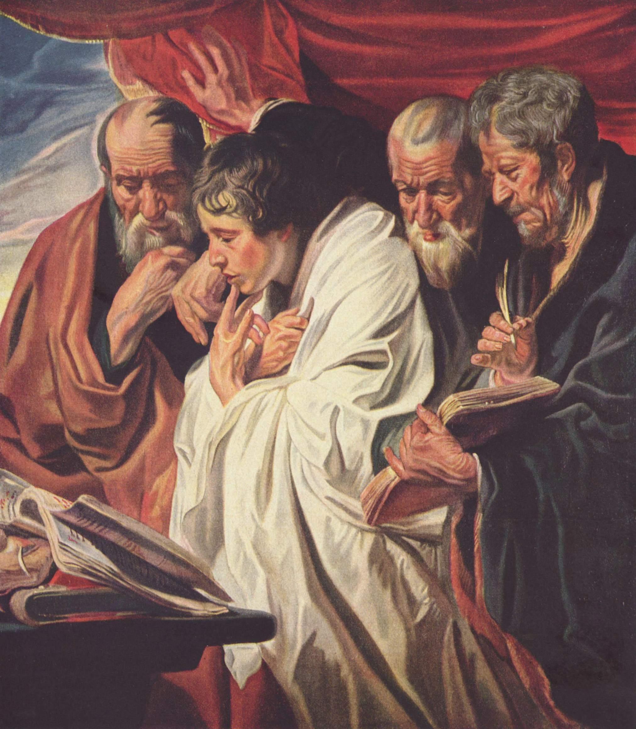 Евангелисты, Йорданс Якоб