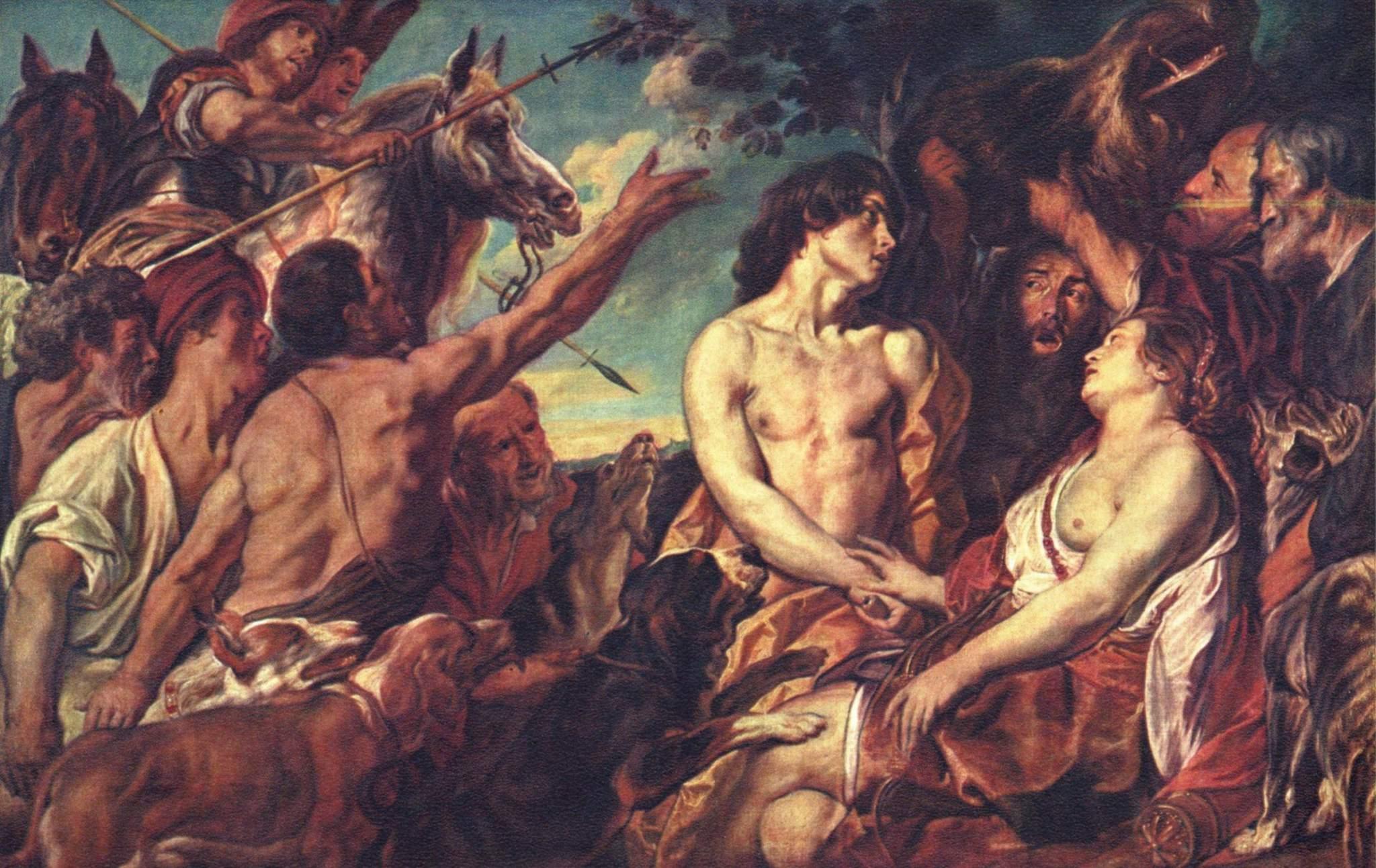 Мелеагр и Аталанта, Йорданс Якоб