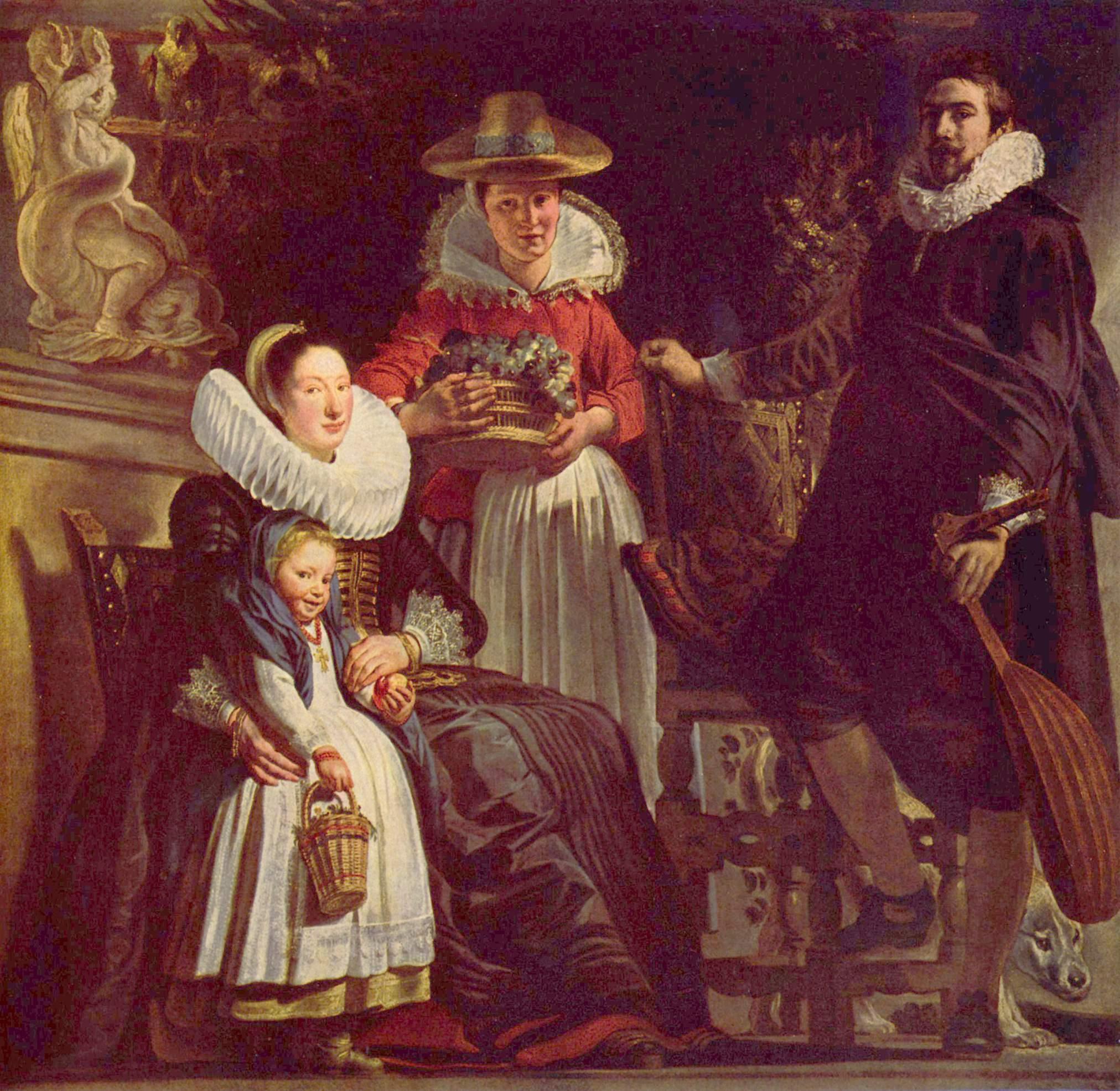 Семейный портрет, Йорданс Якоб