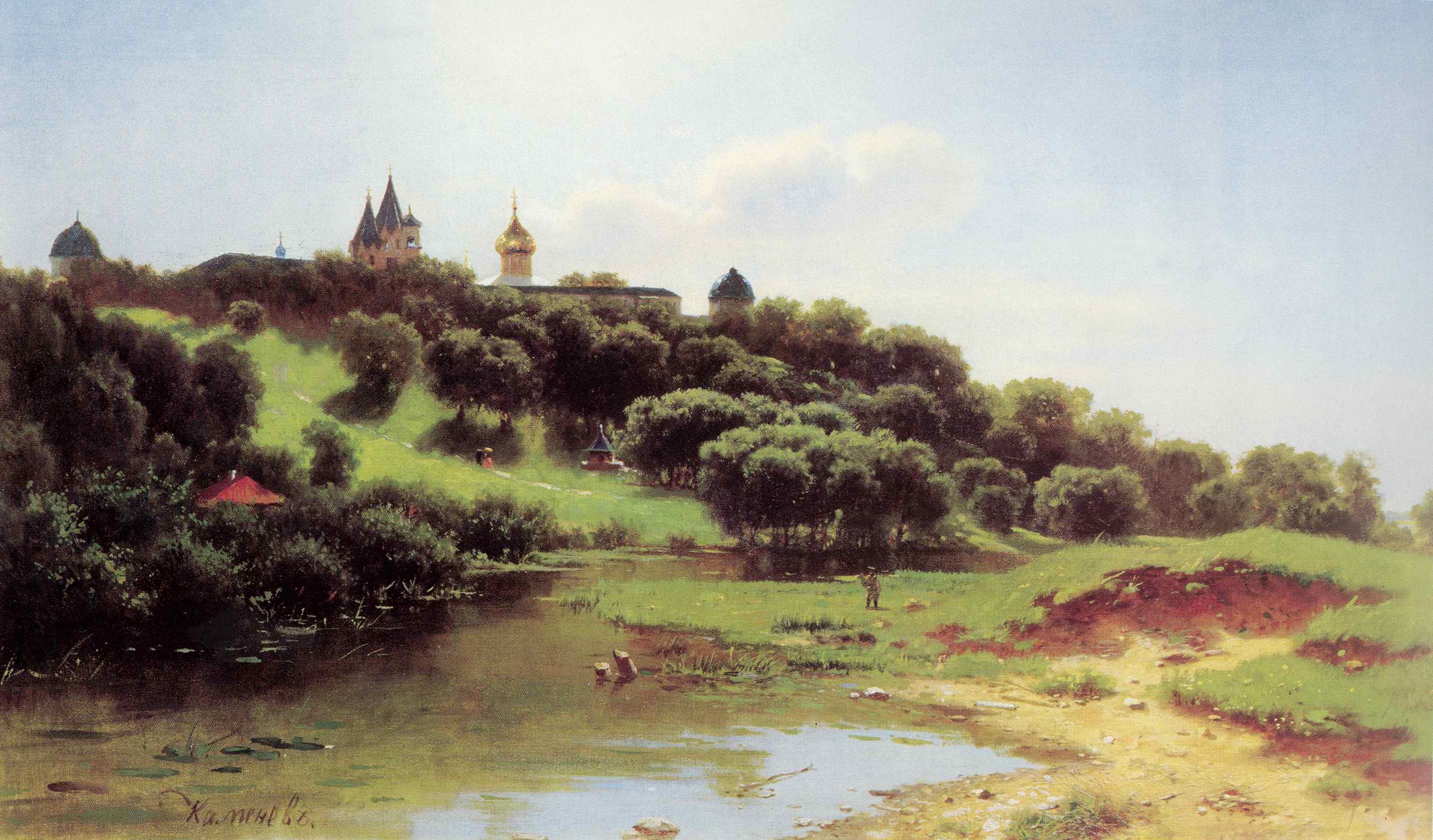 Савино-Сторожевский монастырь под Звенигородом, Каменев Лев Львович