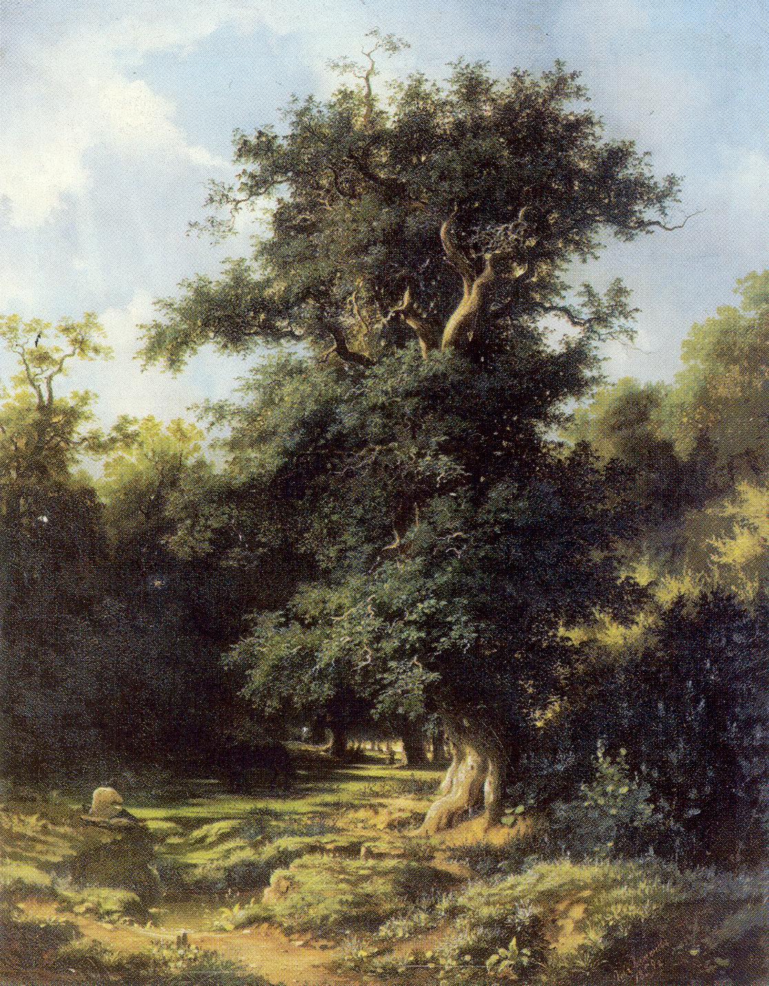 Старый дуб, Каменев Лев Львович