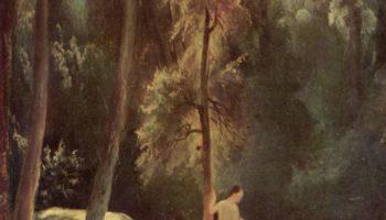 Купальщицы в парке Терни (Купальщицы в лесу)