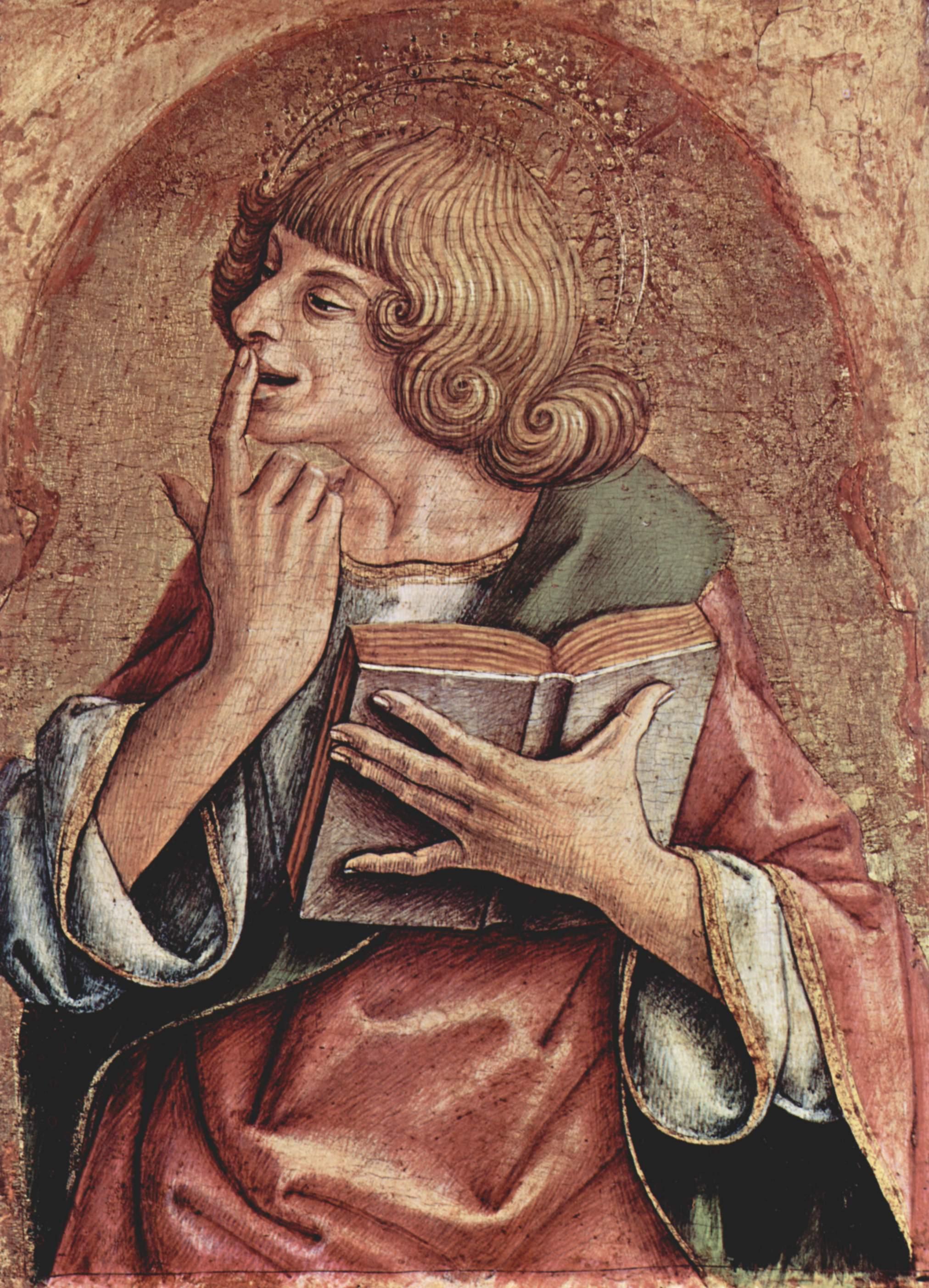 Св. Иоанн Евангелист, Карло Кривелли