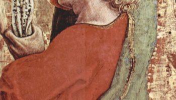 Центральный алтарь кафедрального собора в Асколи, полиптих, основание алтаря  св. Иаков Старший
