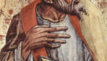 Центральный алтарь кафедрального собора в Асколи, полиптих, пределла