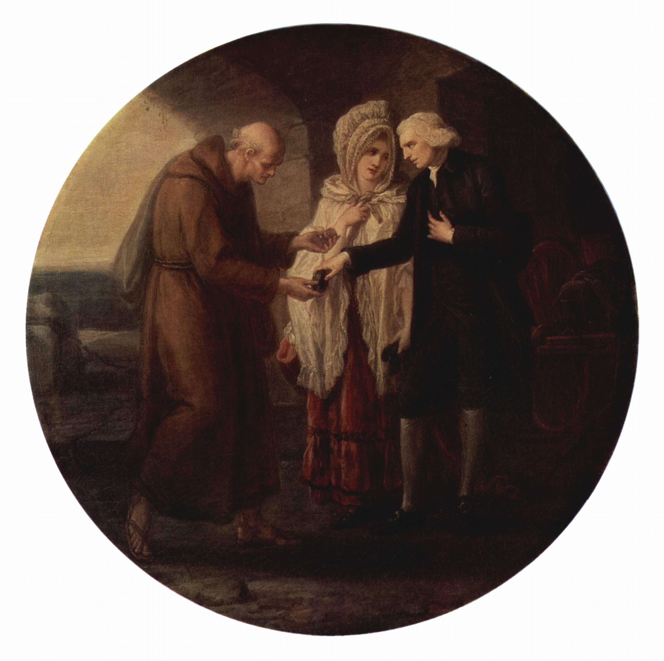 Монах из Кале, Кауфман Ангелика Мария