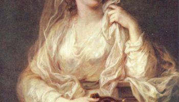 Портрет дамы в одеянии весталки