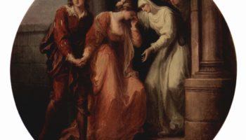 Прощание Абеляра и Элоизы