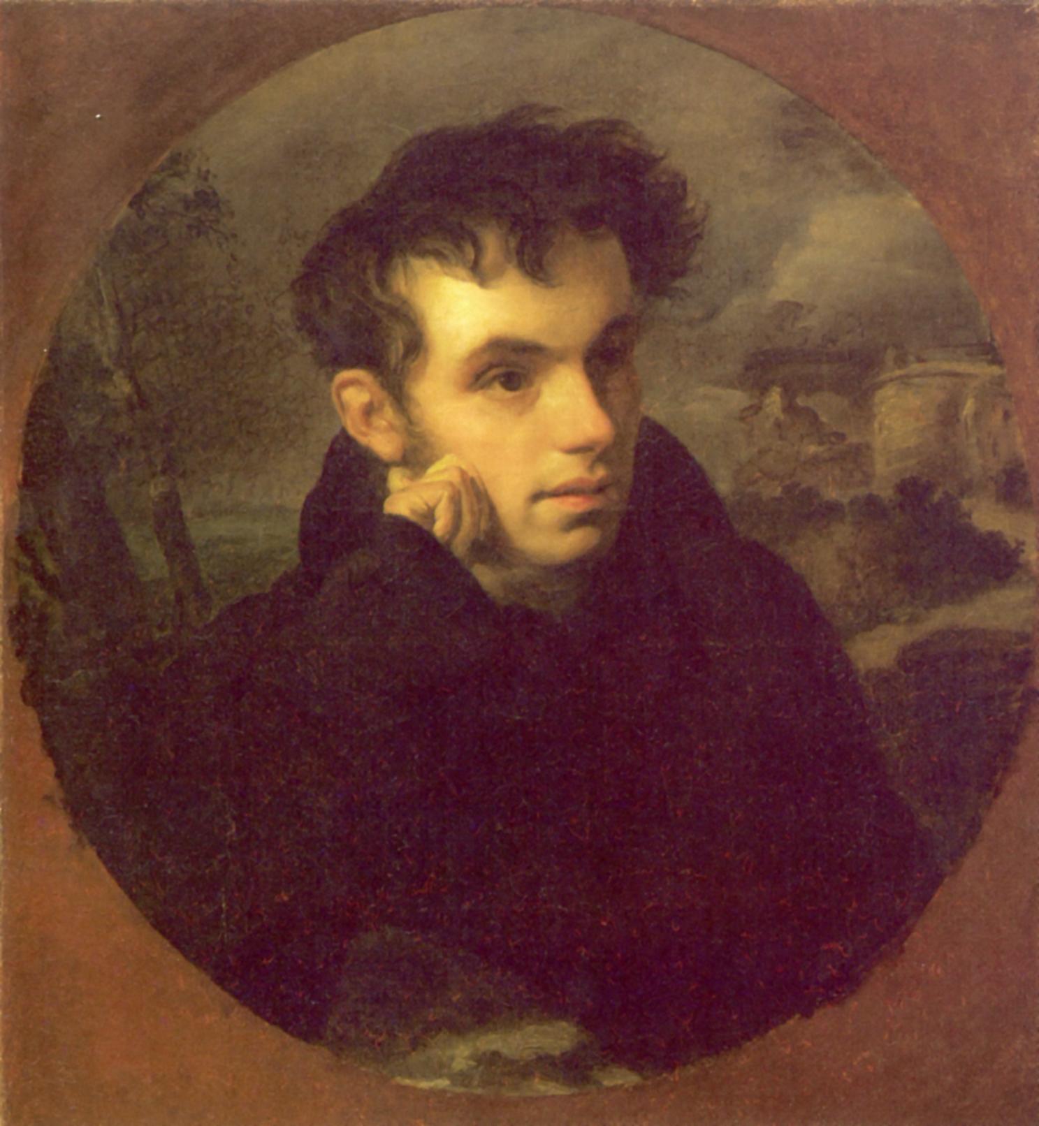 Портрет Василия Андреевича Жуковского, Кипренский Орест Адамович