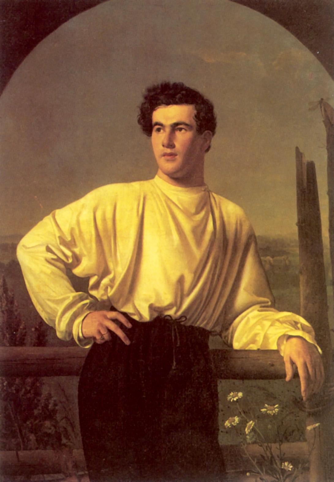 Портрет Афанасия Фёдоровича Шишмарёва, Кипренский Орест Адамович
