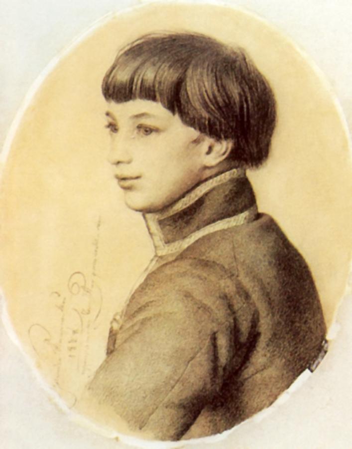 Портрет неизвестного (из семьи Орловых-Давыдовых2a28, Кипренский Орест Адамович