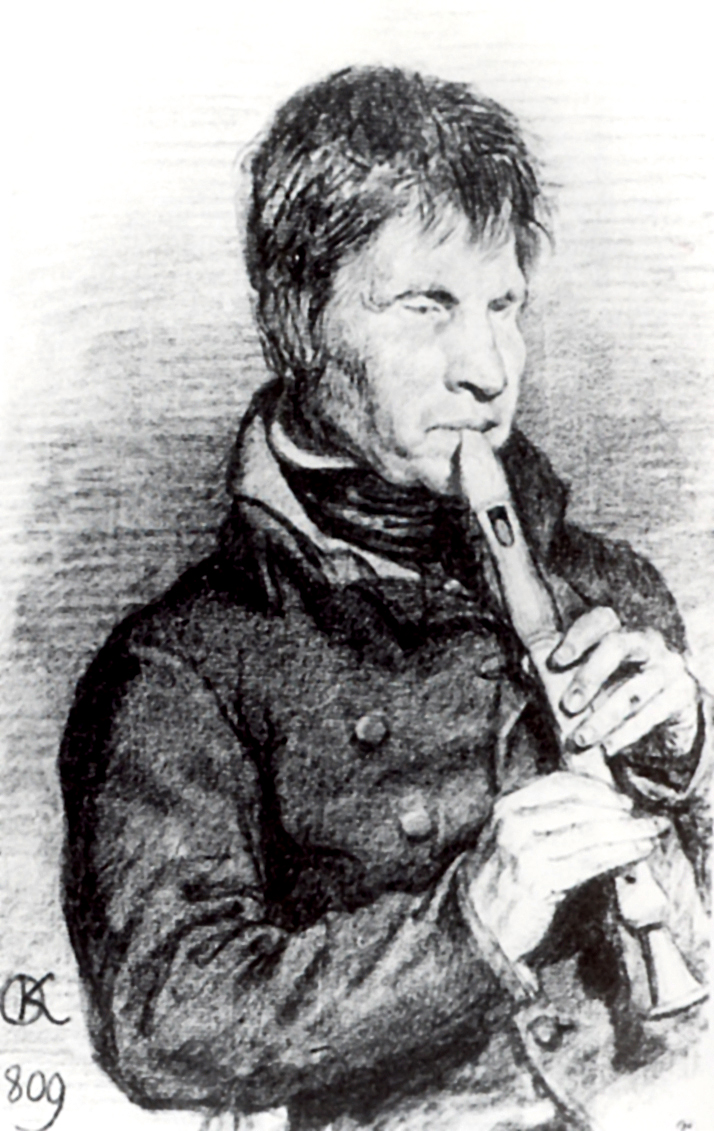 Портрет музыканта, Кипренский Орест Адамович
