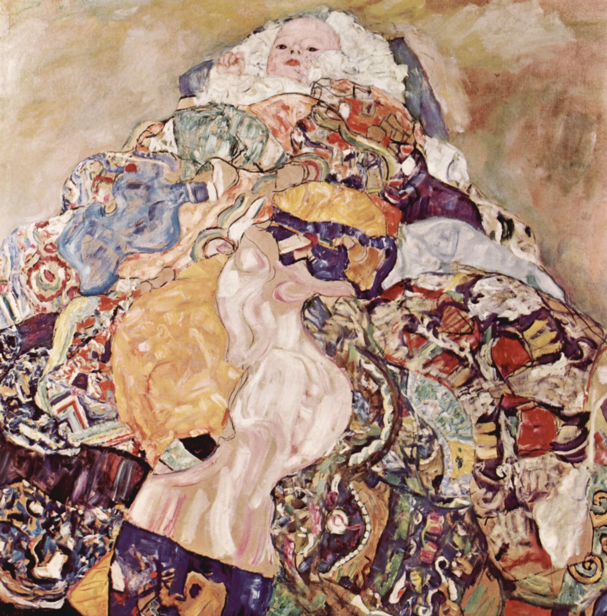 Baby (младенец), Климт Густав