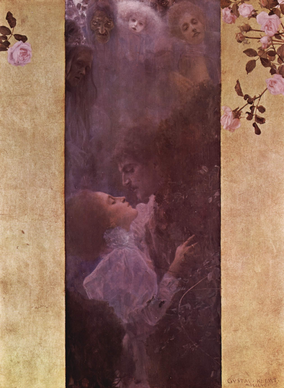 Любовь, Климт Густав