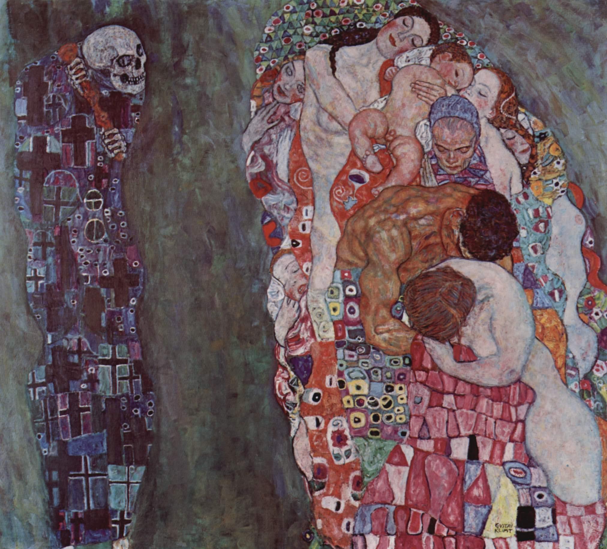 Жизнь и Смерть, Климт Густав