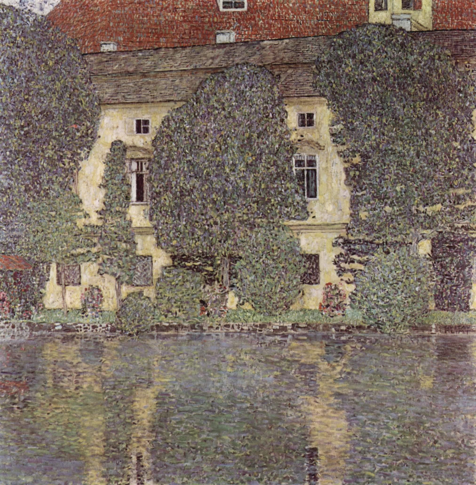Замок Каммер на Аттерзе, Климт Густав