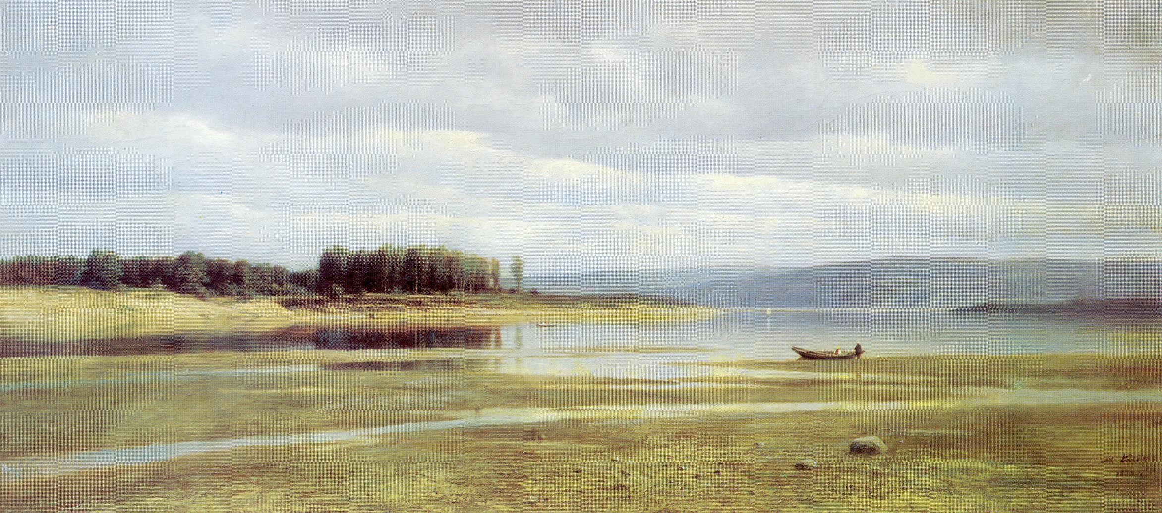 Волга у Жигулей, Клодт Михаил Константинович