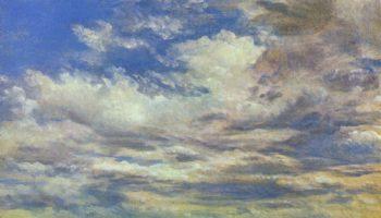 Облака Этюд