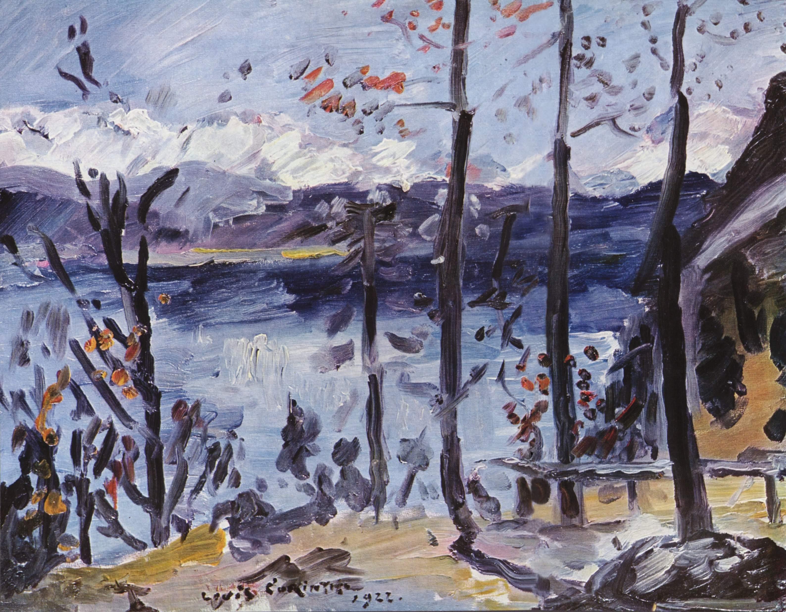 Пасха на озере Вальхен, Коринт Ловис