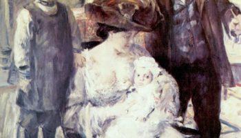 Художник и его семья (семейный портрет)