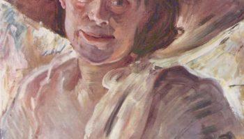 Дама в розовой шляпе. Портрет Шарлотты Беренд-Коринт