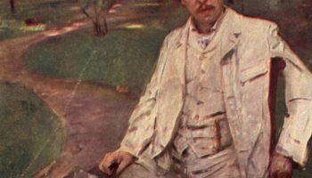 Портрет пианиста Конрада Ансорге