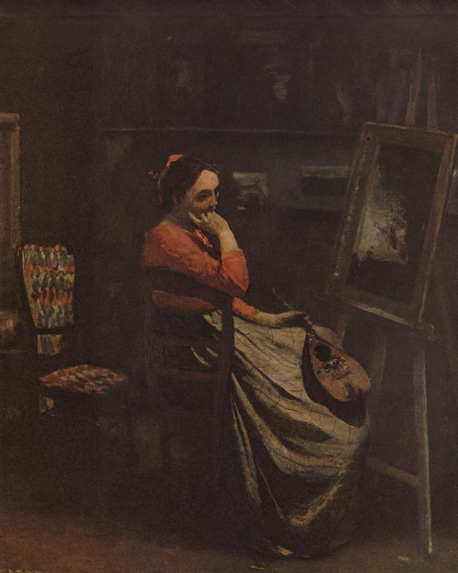 Ателье художника, Коро Жан-Батист-Камиль
