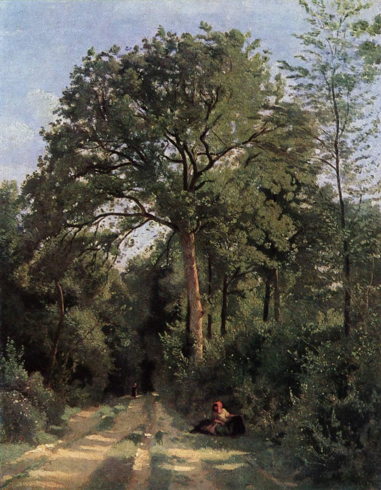 Опушка леса в Виль д Авре, Коро Жан-Батист-Камиль