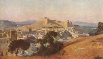 Вид на Вильнёв-лез-Авиньон. Форт Сен-Андре