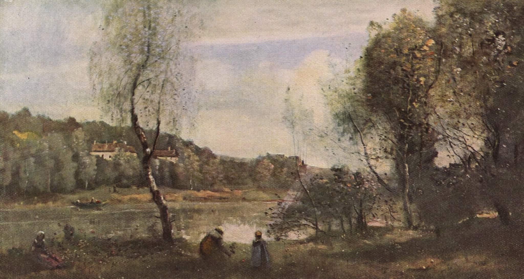 Пруд в Виль дАвре, Коро Жан-Батист-Камиль