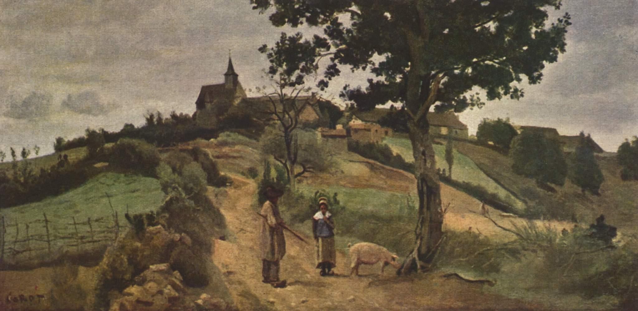 Сен-Андре-ан-Морван, Коро Жан-Батист-Камиль